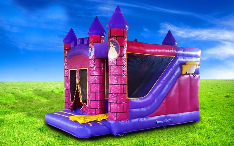 Princess Castle - Lissivigeen Bouncing Castles