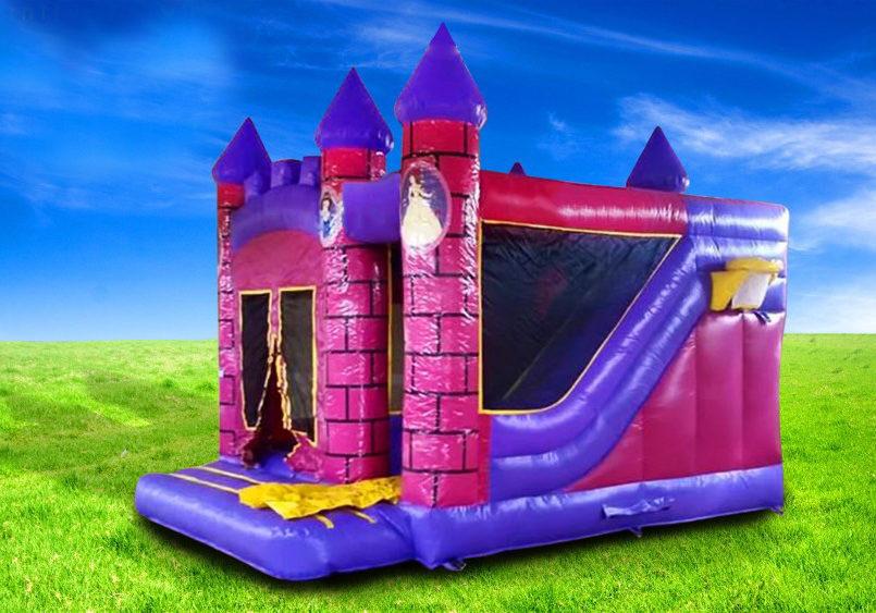 Princess Combi bouncing castle