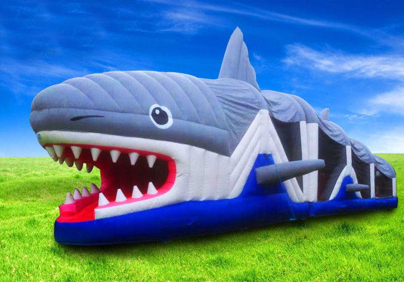 Shark Obstacle Course - Lissivigeen Bouncing Castle